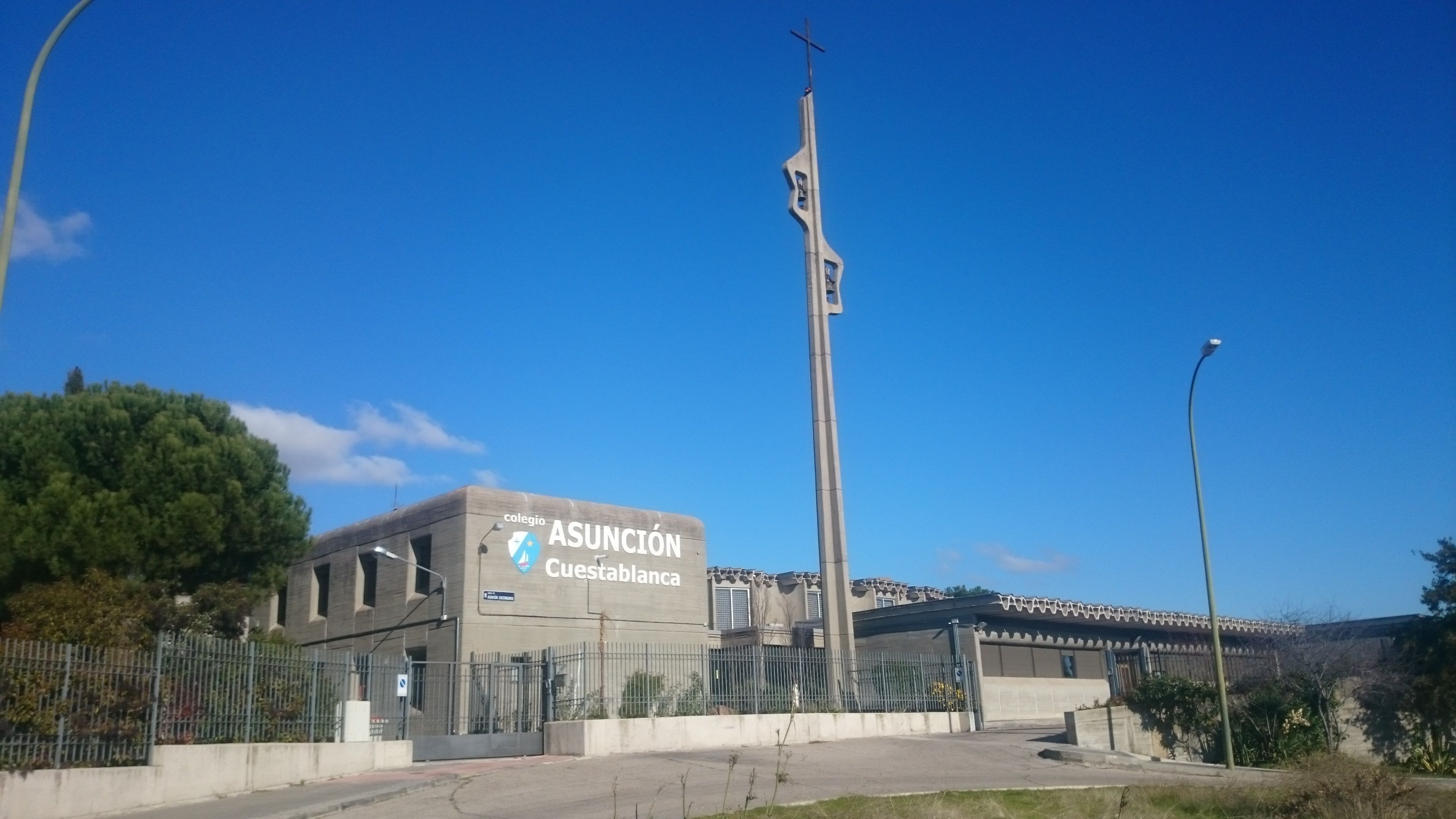 Bienvenidos a la web del Colegio Asunción Cuestablanca